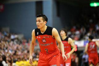 現在、プロバスケットチーム・千葉ジェッツに所属する富樫勇樹選手。